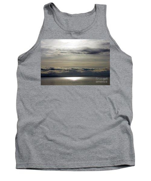 Mirror Sunset Landscape Tank Top