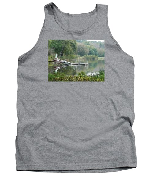Mirrored Pier Tank Top
