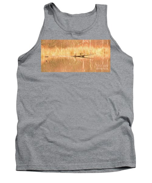 Mirrored Reflection Tank Top by Laurinda Bowling