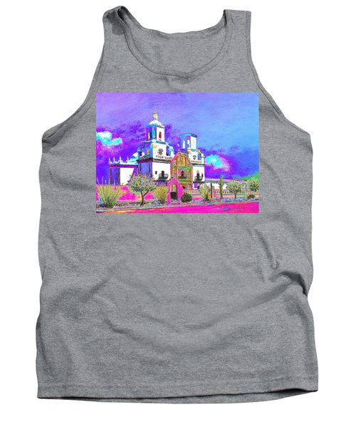 Mission Abstract 3 Tank Top by M Diane Bonaparte