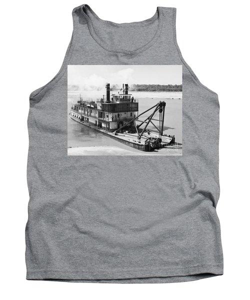 Mississippi River Snag Boat Tank Top by Granger