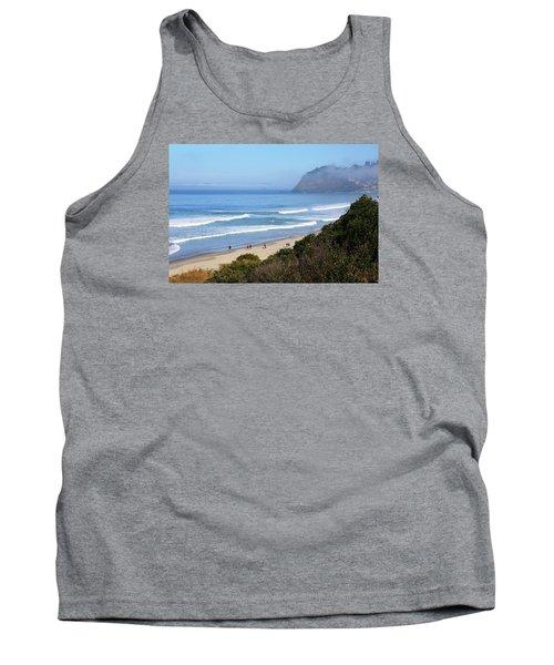 Misty Beach Morning Tank Top