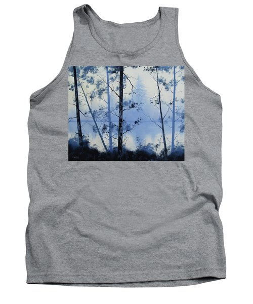 Misty Blue Lake Tank Top