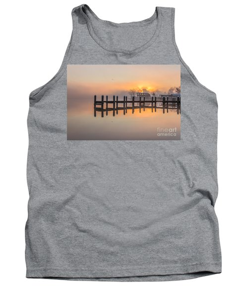 Misty Morning Tank Top by Brian Wright