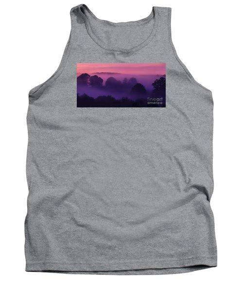 Misty Mountain Dawn Tank Top