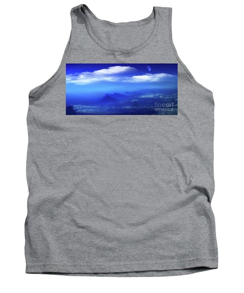 Misty Mountains Of San Salvador Panorama Tank Top