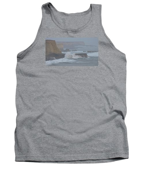 Misty Pacific Cliffs Tank Top