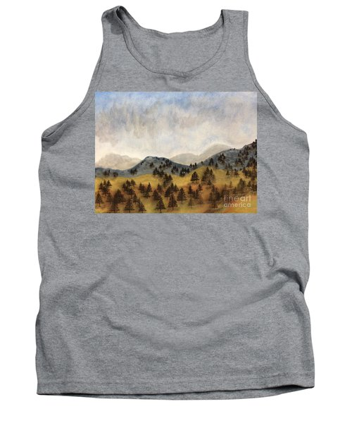 Misty Rain On The Mountain Tank Top