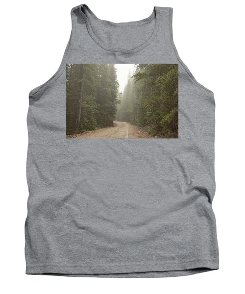 Tank Top featuring the photograph Misty Road by James BO Insogna