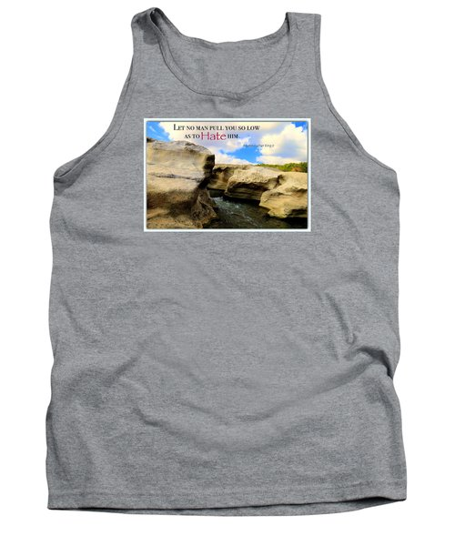 Tank Top featuring the photograph Mlk 1 by David Norman