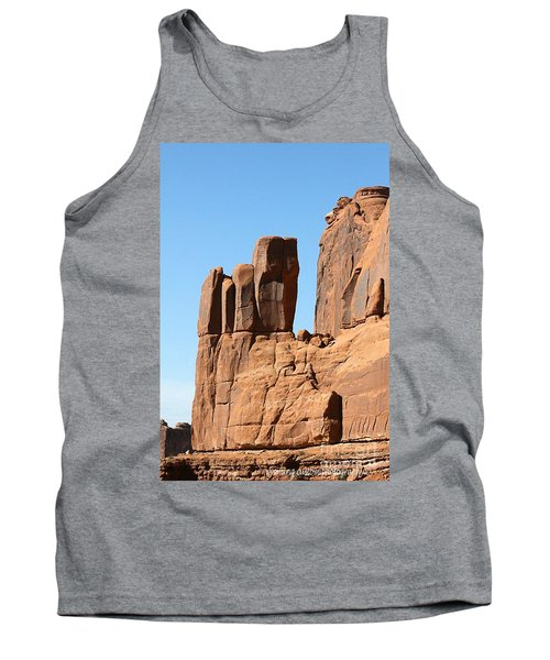 Moab Rocks Tank Top