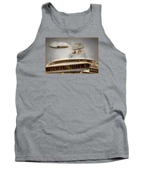 Moby Air Tank Top by Michael Cleere