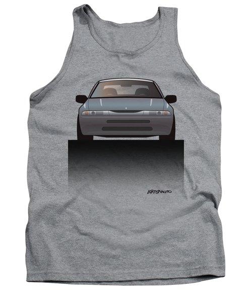 Modern Japanese Icons Subaru Alcyone Svx Split Tank Top