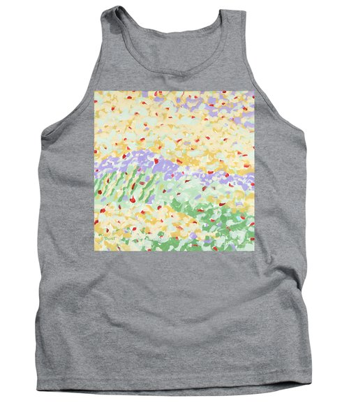 Modern Landscape Painting 3 Tank Top