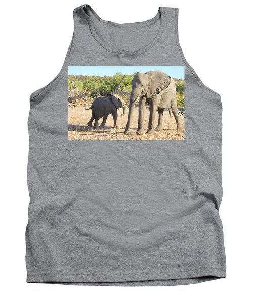 Tank Top featuring the photograph Mom And Baby by Betty-Anne McDonald