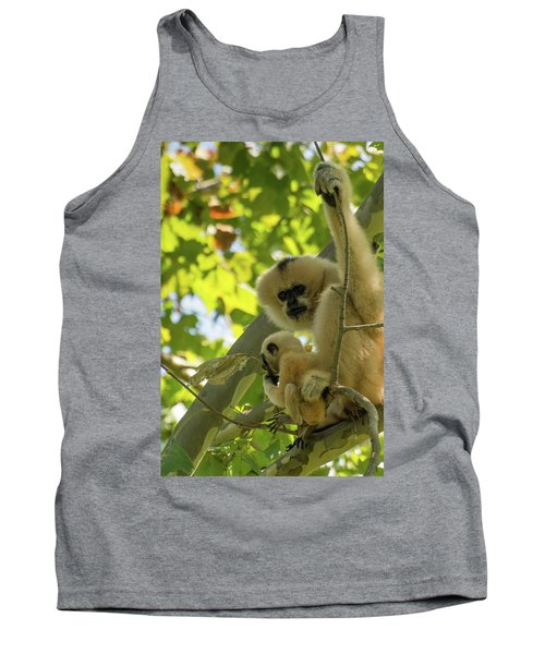 Mommy Gibbon Tank Top