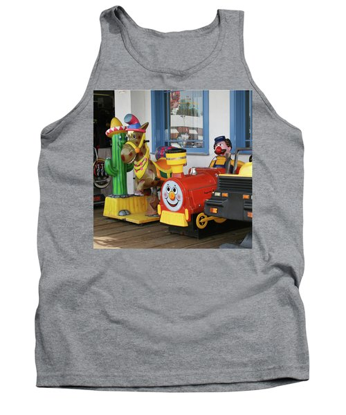 Mommy Let's Ride Tank Top