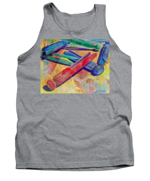 Tank Top featuring the painting Mom's Wash Day by Susan DeLain