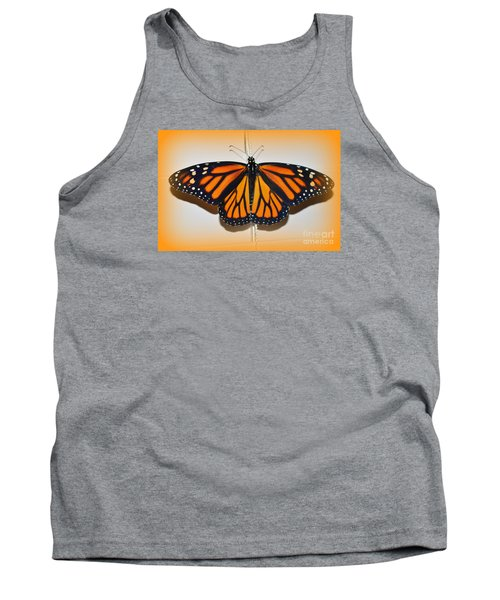 Tank Top featuring the photograph Monarch Beauty by Lew Davis