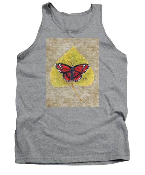 Monarch Butterfly Tank Top by Ralph Root