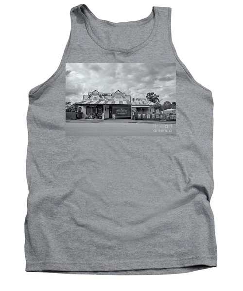 Tank Top featuring the photograph Monegeetta General Store by Linda Lees