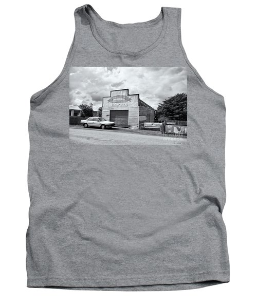 Tank Top featuring the photograph Monegeetta Produce Store by Linda Lees