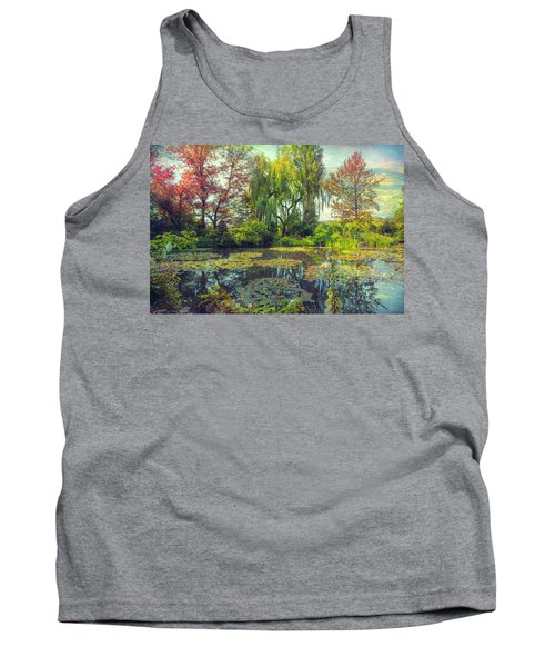 Monet's Afternoon Tank Top by John Rivera