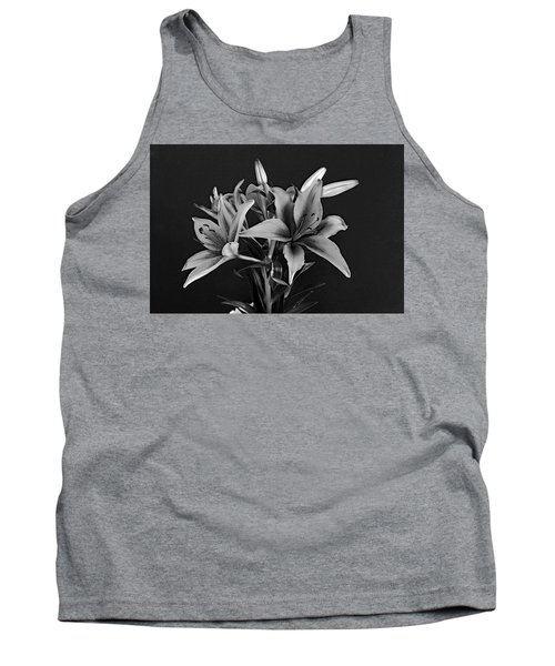 Tank Top featuring the photograph Monochrome Grace by Dorin Adrian Berbier