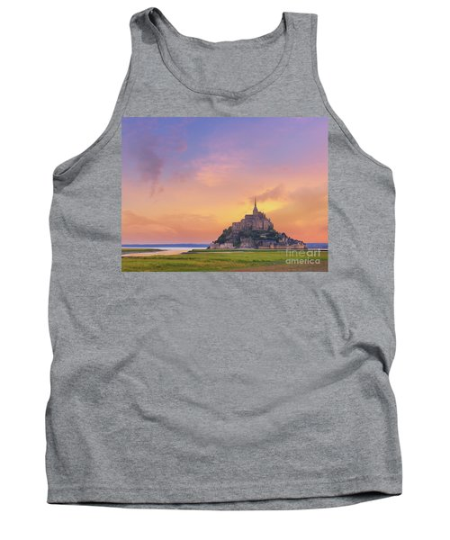 Mont-saint-michel At Dawn Tank Top