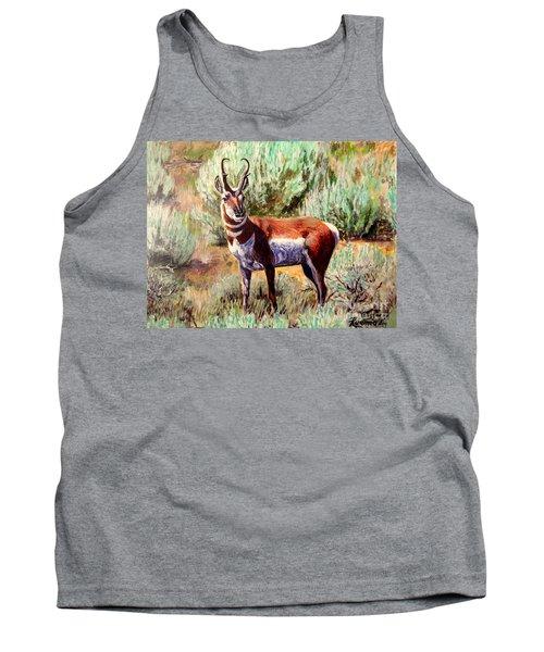 Montana Antelope Buck  Tank Top