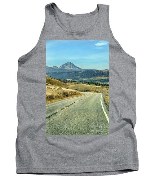 Montana Road Tank Top by Jill Battaglia