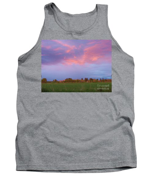 Montana Sunset 2 Tank Top