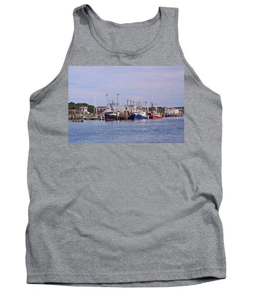 Montauk Fishing Boats Tank Top