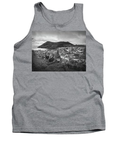 Monte Brasil And Angra Do Heroismo, Terceira Island, Azores Tank Top