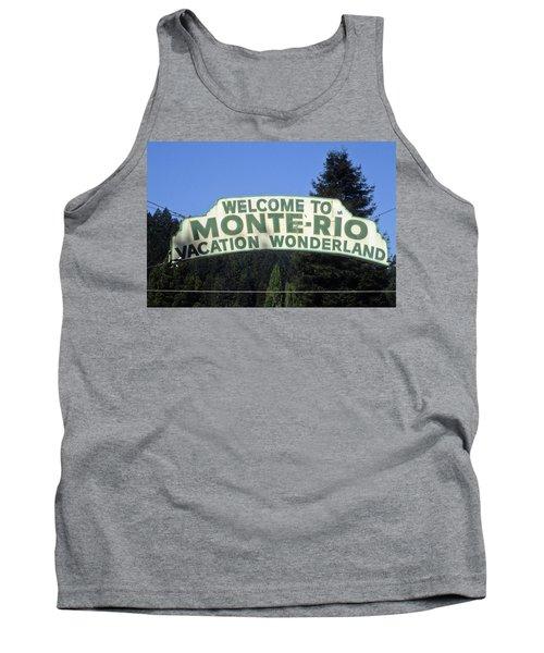 Monte Rio Sign Tank Top