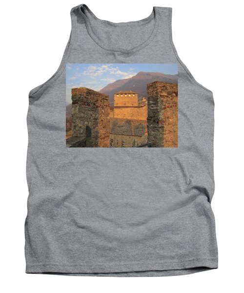 Montebello - Bellinzona, Switzerland Tank Top by Travel Pics
