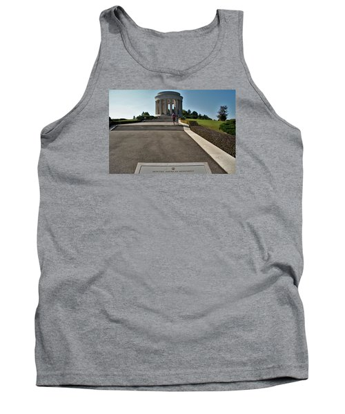 Montsec American Monument Tank Top by Travel Pics