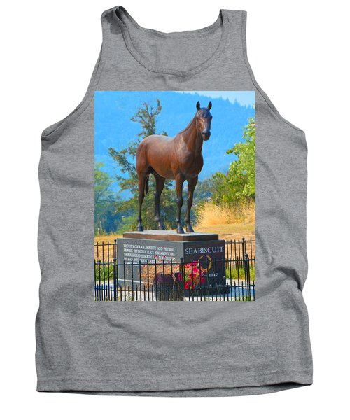 Monument To Seabiscuit Tank Top
