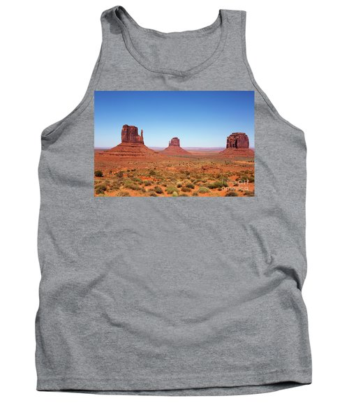 Monument Valley Utah The Mittens Tank Top