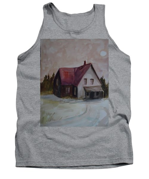 Moon House Tank Top