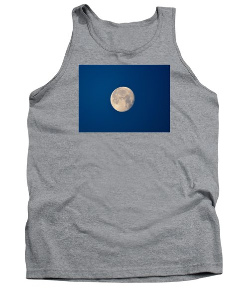 Tank Top featuring the photograph Moon In The Morning by Dacia Doroff