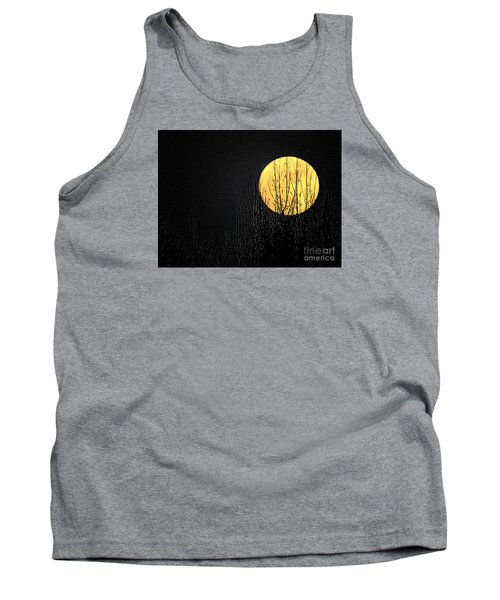 Moon Over The Trees Tank Top