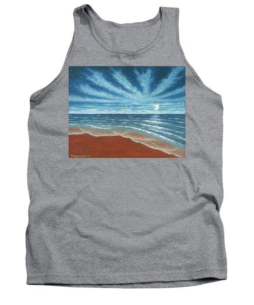 Moonlit Beach Tank Top