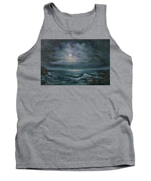Moonlit Seascape Tank Top