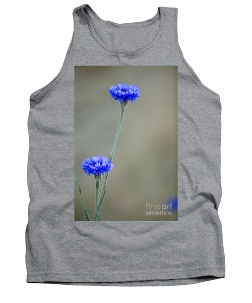 More Bachelors Buttons Tank Top