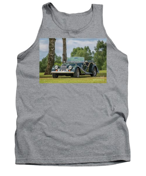 Tank Top featuring the photograph Morgan Sports Car by Adrian Evans