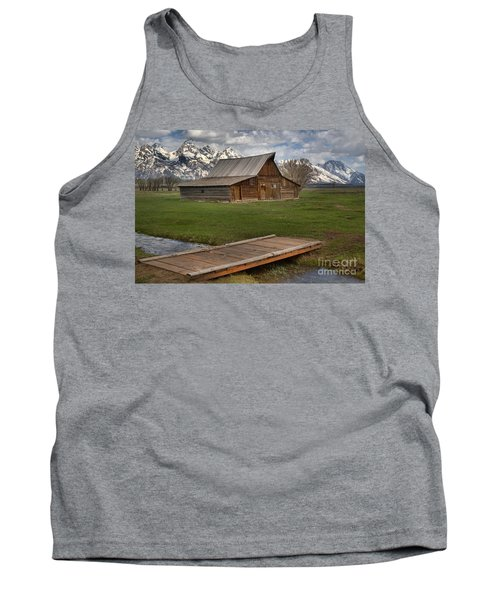 Mormon Row Water Crossing Tank Top by Adam Jewell
