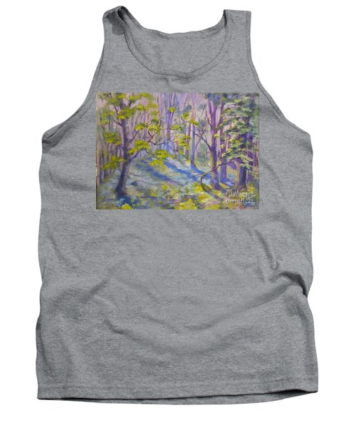 Morning Glory Tank Top by Genevieve Brown