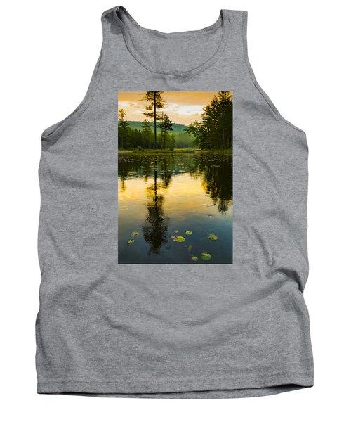 Morning Glow On Lake Tank Top