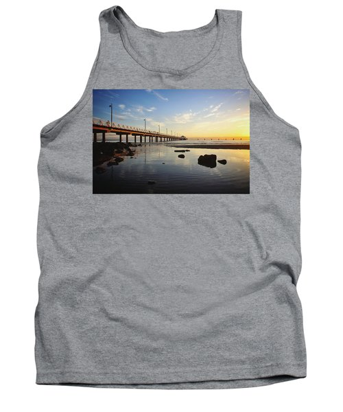 Morning Light Down By The Pier Tank Top